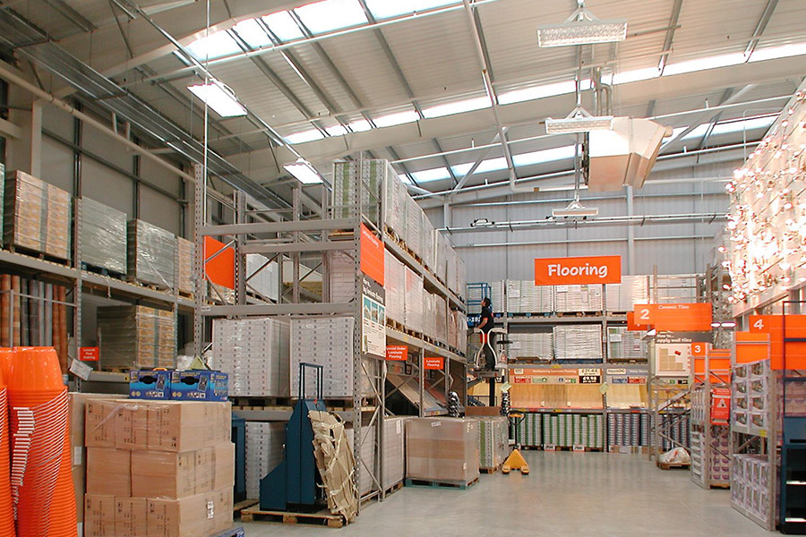 Hall & Kay Fire Engineering B&Q Projects